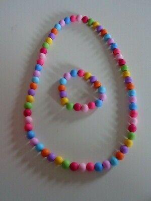 ensemble:collier bracelet pour petite fille neuf fait main aux choix
