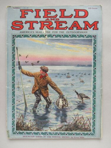 Field & Stream Magazine - January, 1917 ~~ Field and Stream