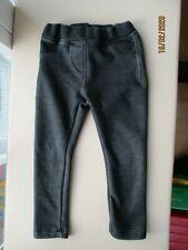 Kinder Thermo Leggins Rose Hose Jeans Print Destroyed Bär Leggings Jeggings 786