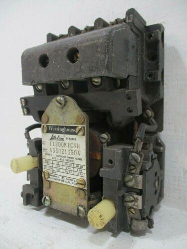Westinghouse 11200K1CNN Life-Line Size 1 Starter 27 Amp 120V Coil 10HP LifeLine