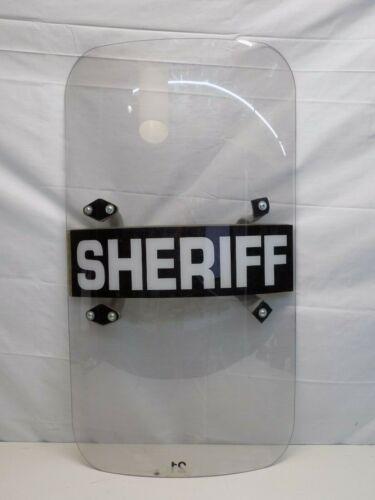 """Polycarbonate Riot Shield, 20"""" x 36"""" x .150"""""""