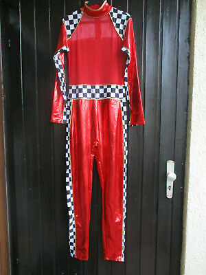Fasching Kostüm, Rennfahrer Kostüm, Gr. M/L, Halber Preis wegen Nahtverbesserung