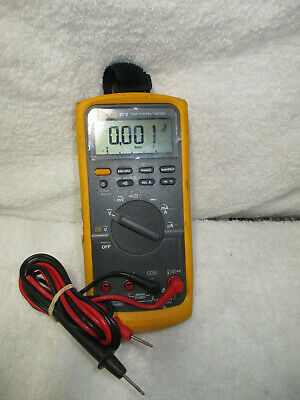 Used Fluke 87v True Rms Digital Multimeter W Leads Works 87-5 87 V