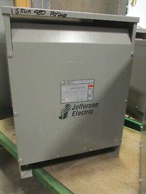 Jefferson 423-3164-055 15 Kva 3 480 X 120208 Volt Transformer Ns- T1537