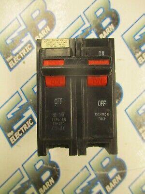 Bryant Br220 2 Pole 20 Amp 240 Volt Plug In Circuit Breaker- Warranty