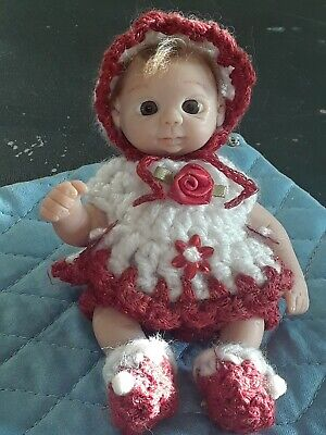 OOAK Miniature Baby ~ Polymer Clay ~ Resell