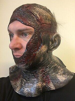 Rotting Bloody Hood vs Jason Mask Latex Halloween Horror VII Fancy Dress Costume (Jason Costume)