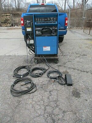 Miller Syncrowave 351 Tig Welder Water Cooled Foot Pedal 2 Leads Watermate 1a