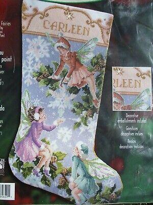 Bucilla Winter Fairies Christmas Needlepoint 18