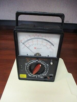Triplett Corporation 60-a Multimeter Meter No Back Battery Cover
