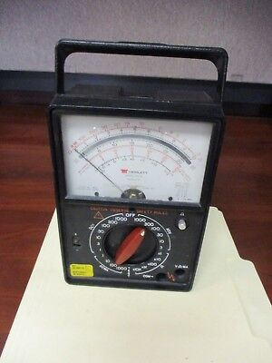 Triplett Corporation 60-a Multimeter Meter No Back Battery Cover