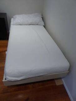 single Bed incl. Frame(195x95cm),Mattress(190X90cm),Slat System Kew Boroondara Area Preview