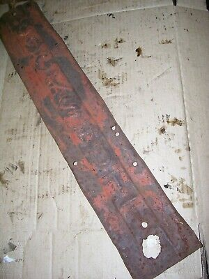 Vintage Cockshutt 30  Tractor - Grille Center Strip - Imprinted