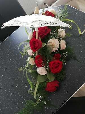 Hochzeitsdekoration ~ Blumenschalen ~ plus Idee ;) ()