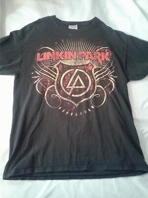 Linkin Park Chester Bennington Rock Tee Shirt  ADULT LARGE, ONE SIDED, RARE