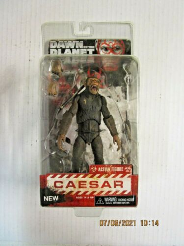 """DAWN OF THE PLANET OF THE APES Series 2 Caesar 7"""" ACTION FIGURE NIB 2014 NECA"""