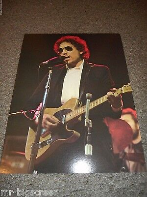 BOB DYLAN - ORIGINAL 1974 RISING SIGNS LARGE POSTER CARD - 8 1/2