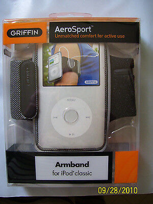 Griffin Armband - GRIFFIN AeroSport Armband for iPod classic 80/160GB 10039-ICAEROB