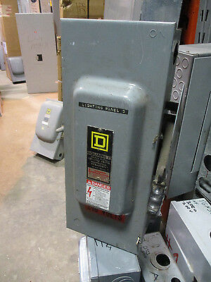 Square D H323n 100 Amp 240 Volt Fusible 3 Phase Disconnect F Series