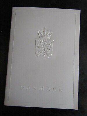 DENMARK - 1977 DELEGATES COMPLIMENTARY STAMP BOOK FOR  STOCKHOLM CEPT EXPOEXPO