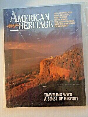 American Heritage Magazine April 1988 NEW Sealed Vintage Advertising Periodical