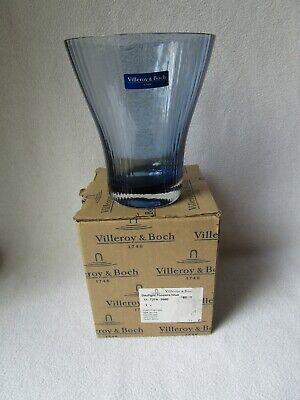 ylight Flowers blue Hyazinthenvase Glas Vase blau 16cm hoch (V Day Dekorationen)