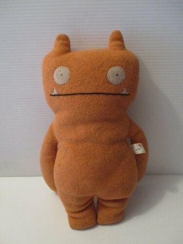 """Rare Uglydoll 15"""" Orange Plush Wage Stuffed Plush Animal Toy 2003"""