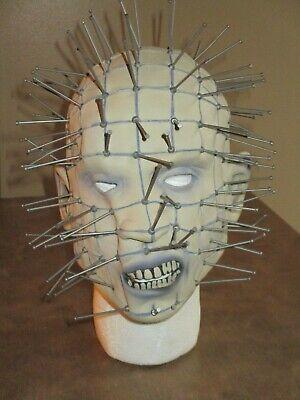 Pin Head Mask (HALLOWEEN PIN HEAD COSPLAY TERROR MASK)