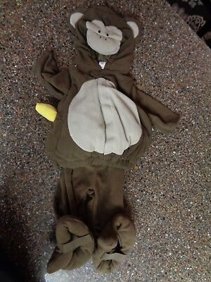 Monkey Costume 6-12 Months Old Navy Plush, Soft Brand New with (Monkey Soft Kostüme)