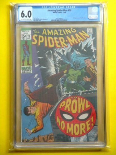 Amazing Spider-Man #79 - CGC 6.0 - 2nd Appearance of Prowler