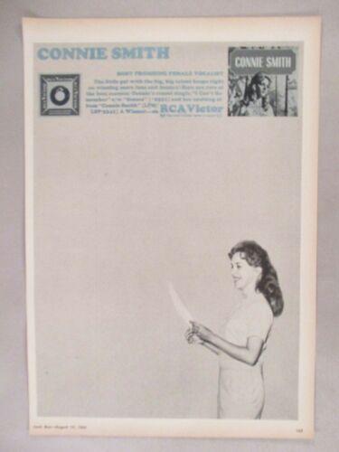 Connie Smith PRINT AD - 1965