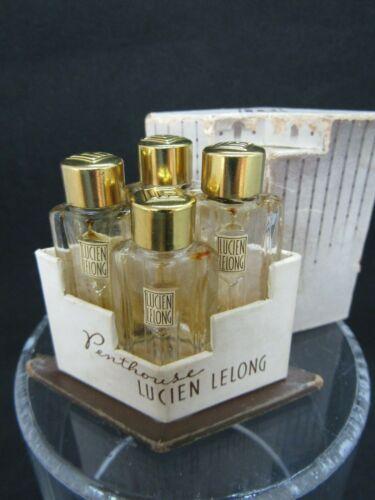 Penthouse perfume presentation by Lucien Lelong 4 bottles