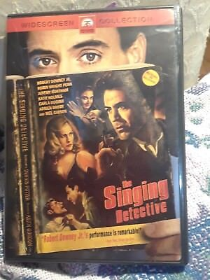 The Singing Detective Film Robert Downey Jr  Robin Wright Penn K Holmes Dvd 2004