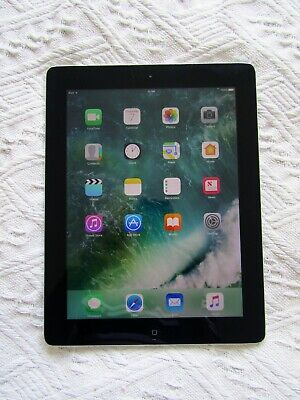 "Apple iPad 4th Generation 9.7"" 16GB Wi-Fi Space Grey – A1458"