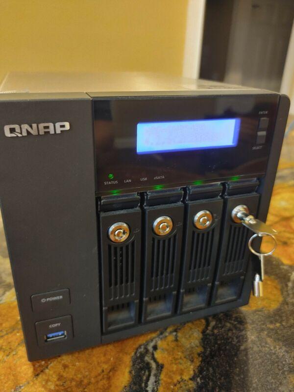 QNAP Turbo NAS TS-459 Pro II Network Storage Server 4X of 3TB Drives