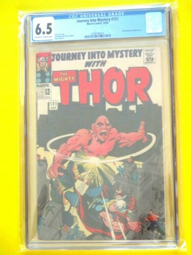 Journey Into Mystery #121 - CGC 6.5 - Absorbing Man Appearance (1965)