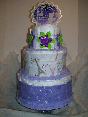 Diaper Cakes Make (BABY SHOWER Games Diaper Cake Party Favor Make Your Magic Centerpiece Decoration )