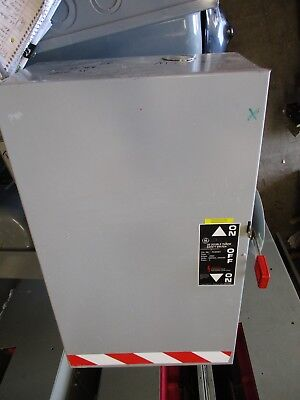 Ge Tc35364 Mod. 8 200 Amp 3 Pole 600 Volt Double Throw Safety Switch- Ats296