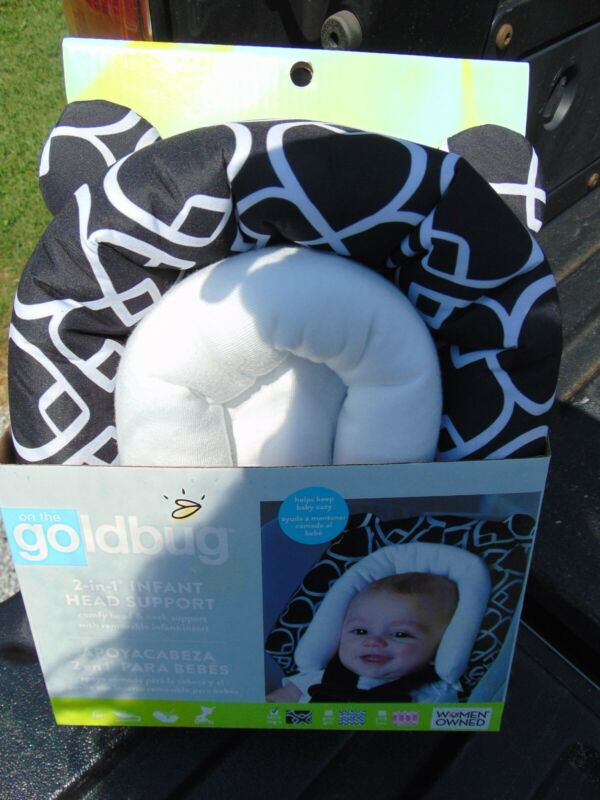 On the Goldbug Infant 2 in 1 Head Support
