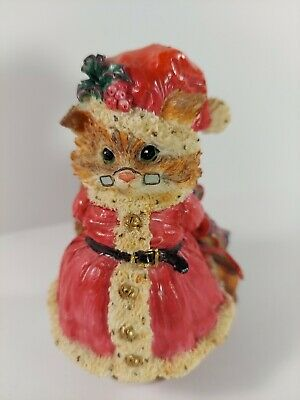 The Thickets at Sweetbriar Mr Claws 'Christmas is a Time for Love' Cat Figurine