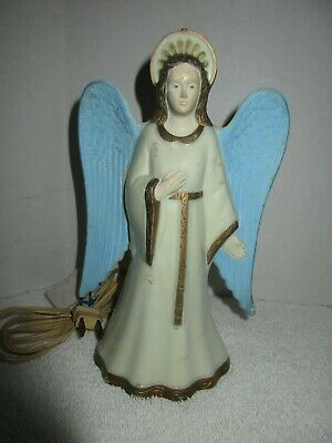 Vintage Light-up Christmas Angel Tree Topper Holiday Decorations