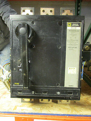 Square D Pcf362500dc1680 2500 Amp 500v Aux Uvr -reconditioned Test Report