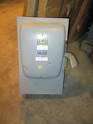 Square D H323n 100 Amp 240 Volt Fusible Vintage Disconnect A Series