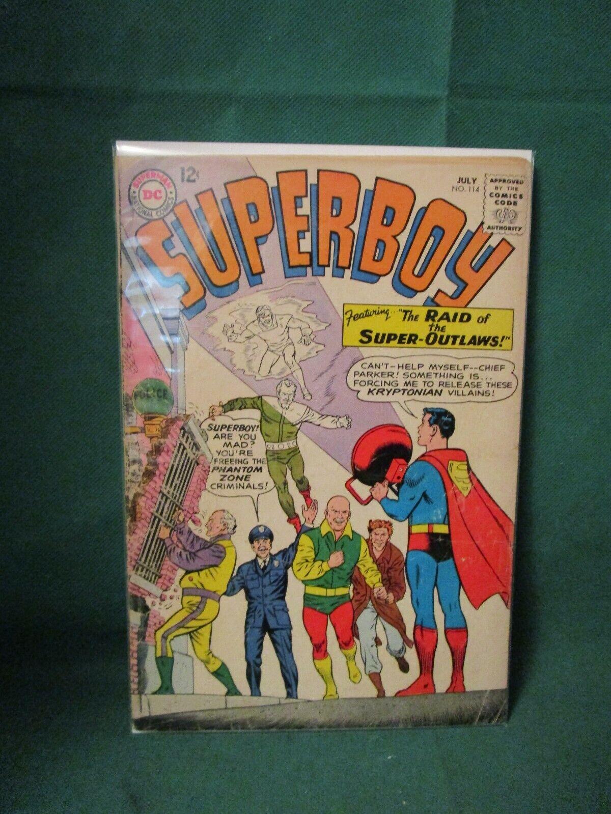 1964 DC Comics - Superboy 114 - 2.0 - $4.20