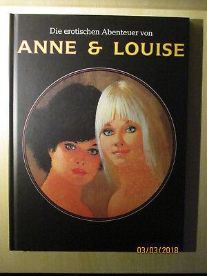 Die Erotischen Abenteuer von Anne und Louise - Hardcover -NEU Ferocius Gotha