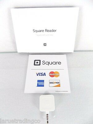 Brand Newsquare Credit Debit Card Magstripe Readerwhitefor Small Business