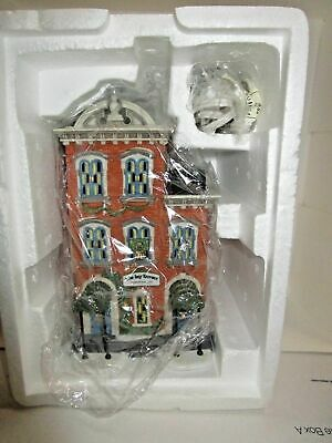 Dept 56 Ivy Terrace Apartments, Christmas in the City Series 1995 in Box #5887-4