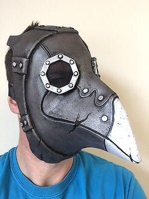Pest Arzt Dr. Krähe Lange Nase Steampunk Maske Halloween Horror - Krähe Kostüm Maske