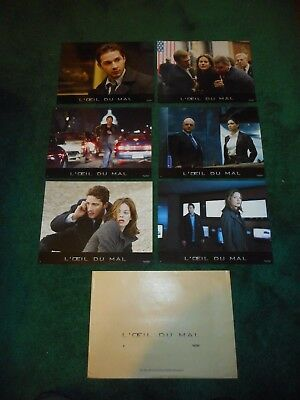 EAGLE EYE - ORIGINAL SET OF 6 FRENCH LOBBY CARDS - 2008 - MICHELLE MONAGHAN
