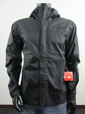 Mens TNF The North Face Venture Dryvent Waterproof Hooded Rain Jacket - Black